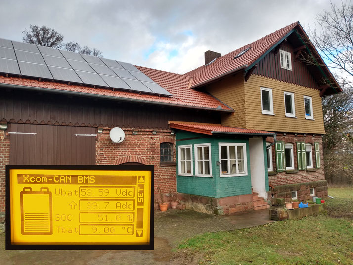Off-Grid System 6,8 kWp, Studer VS-120, Studer XTH-6000, BYD Battery-Box Premium LVL 15.4 / Germany