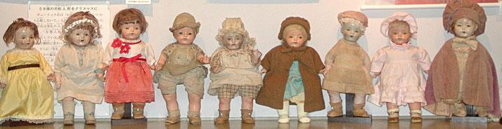 今も残っている三重の「青い目の人形」は9体です
