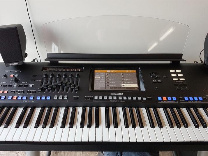 Ein typisches Keyboard allerdings mit 76 Tasten