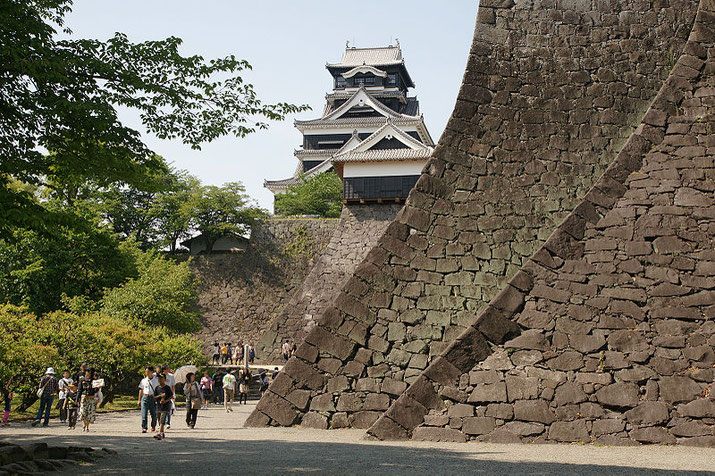 Kumamoto castle Source: Wikipedia