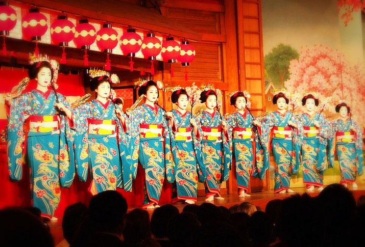 Miyako odori event You need to see it but hard to book a seat  Source: Wikipedia