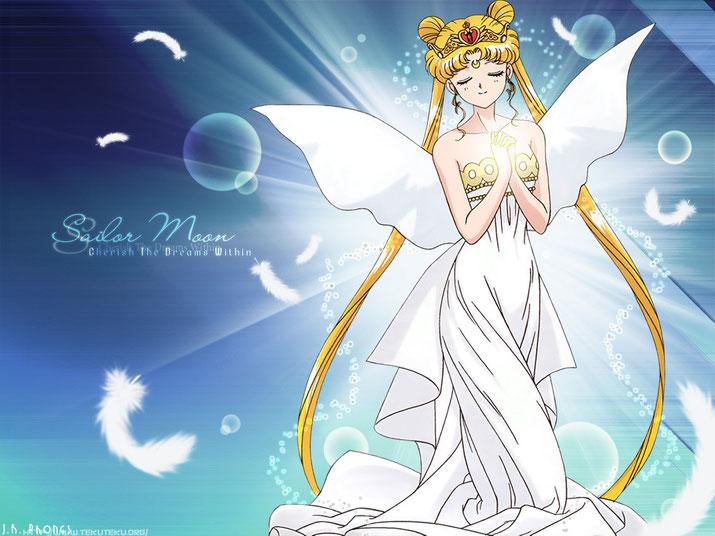 Neo Queen Serenity  Source: Bandai PNP Toei Naoko Takeuchi
