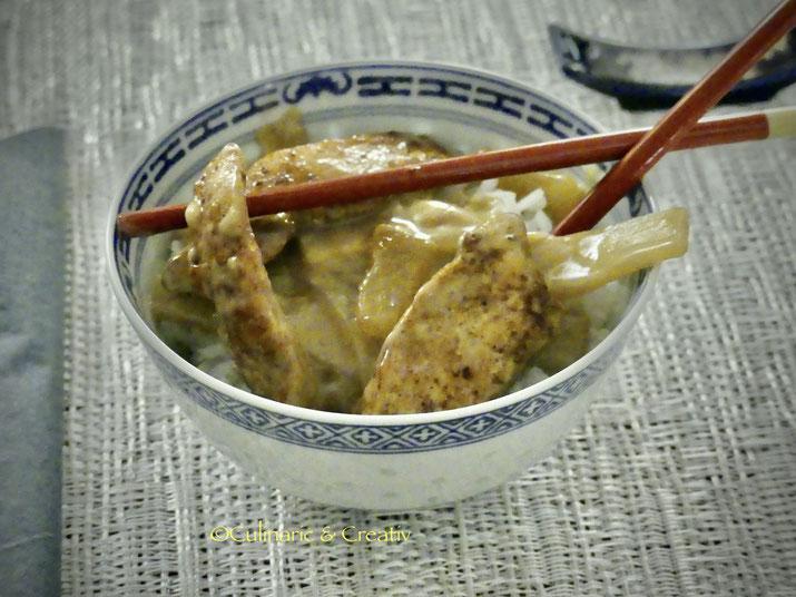 Hühnerbrust asiatisch