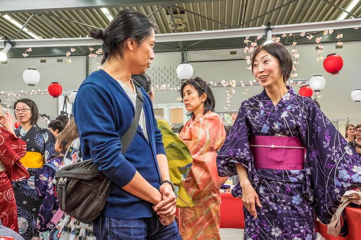 Gute Laune, buntes Treiben, grosse Vielfalt: am Japan Matsuri war für jeden etwas dabei.