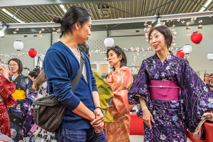 Good mood, colourful antics and a bustling center: there was something for everyone at the Japan Matsuri.