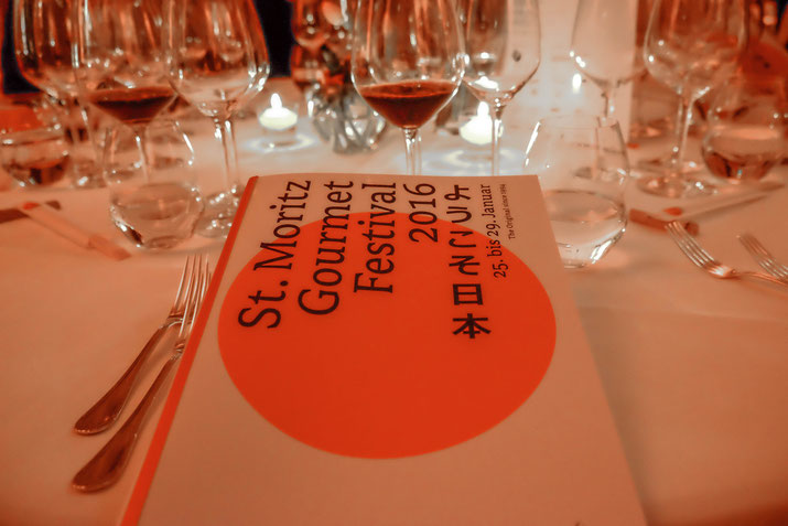 St. Moritz Gourmet Festival 2016: Japanese culinary craftsmanship & the Italian art of fine wine