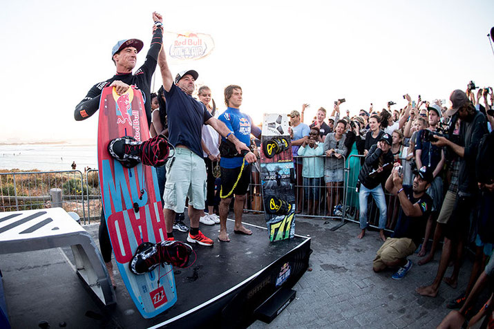 Aaron takes the win at the Red Bull King of the Air 2016 - the first event on the GKA Freestyle Grand Slam calendar  / Photo: Red Bull Content Pool / Kolesky