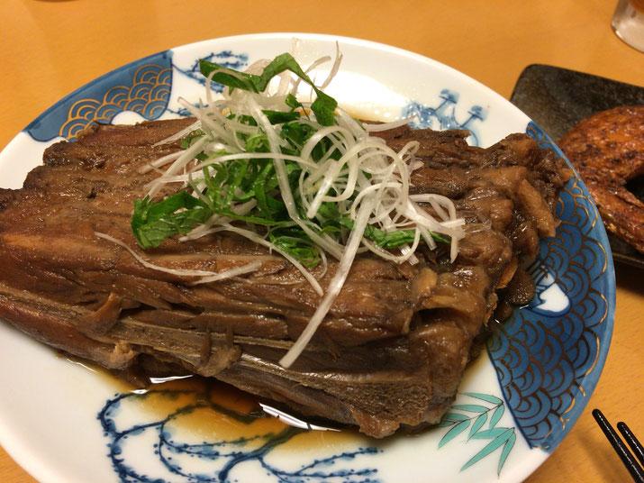 東北料理が得意な居酒屋さんの名物料理【ハモニカ煮】
