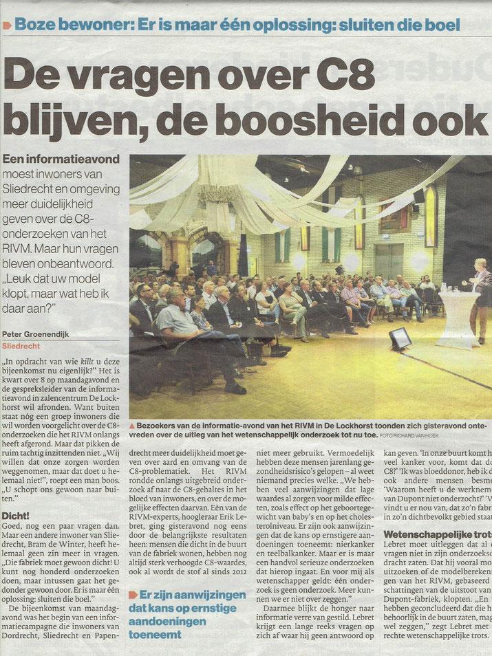 Artikel verschenen in het Algemeen Dagblad
