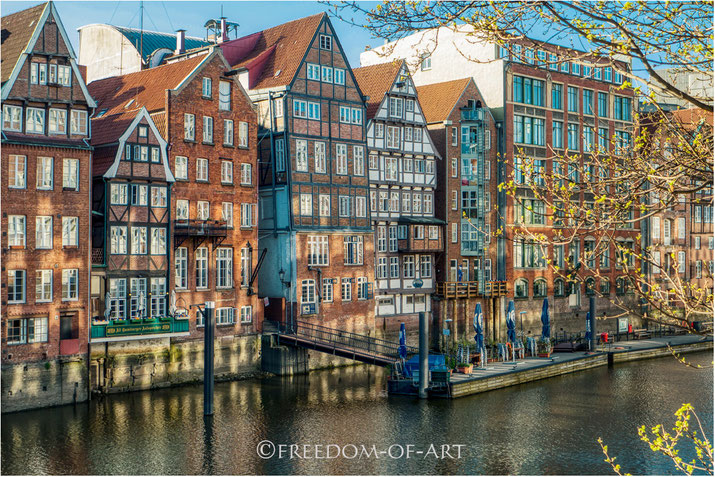 Historisches am Nikolaifleet (Hamburg)