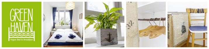 captain 39 s suite green haven vegan bed breakfast in. Black Bedroom Furniture Sets. Home Design Ideas
