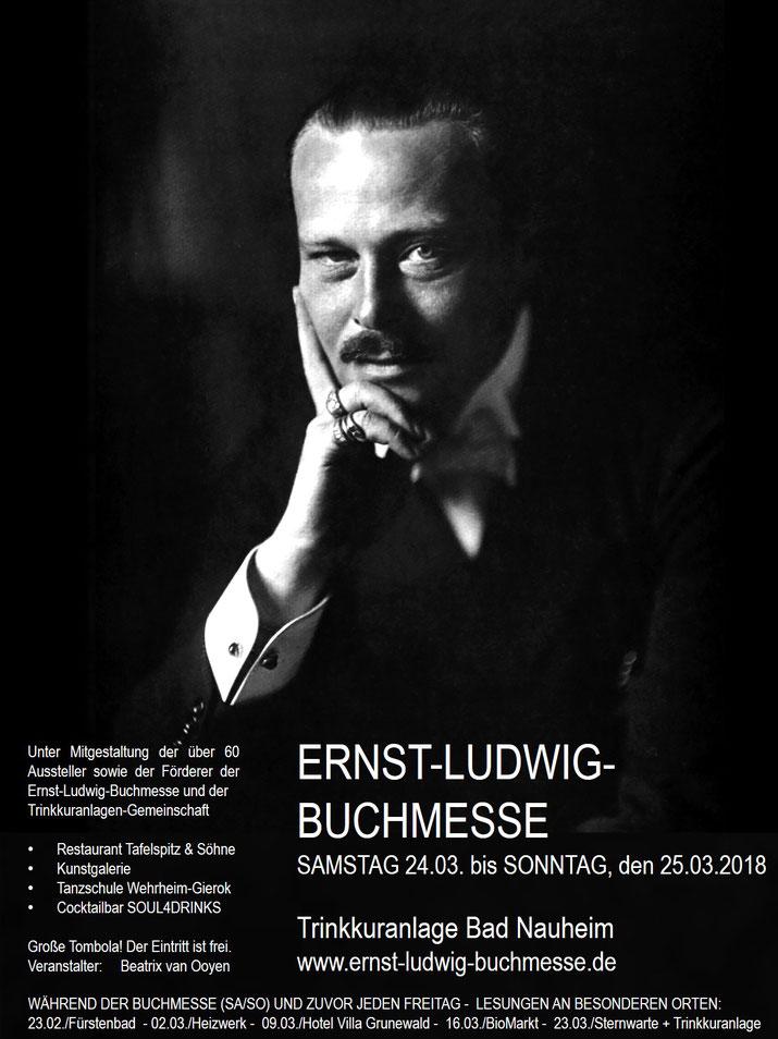 Wir sind dabei! Bad Nauheim ist ein wunderschöner Ort und die Ernst-Ludwig-Buchmesse eine ganz besondere Veranstaltung! Auch für Nicht-Leser! Da die Buchmesse coronabedingt ausfiel, ziehen alle Aussteller und ihre Angebote nun um auf die Website.