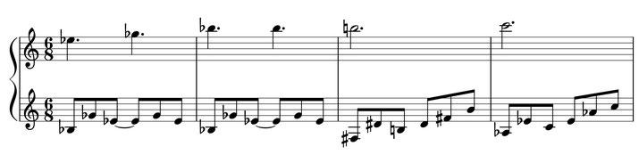 musique partition Ulthar thème harmonie