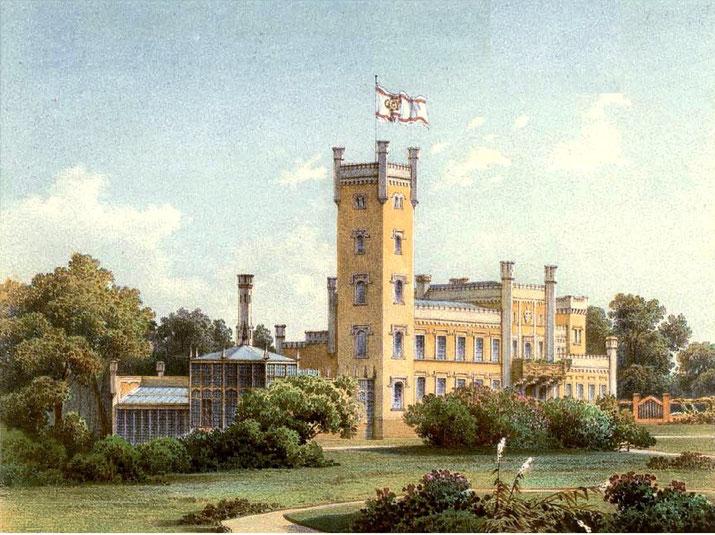 Schloss Hohen Landion Duncker-Stich