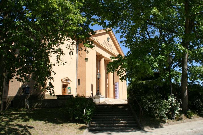 Eingang Theater Neusrelitz