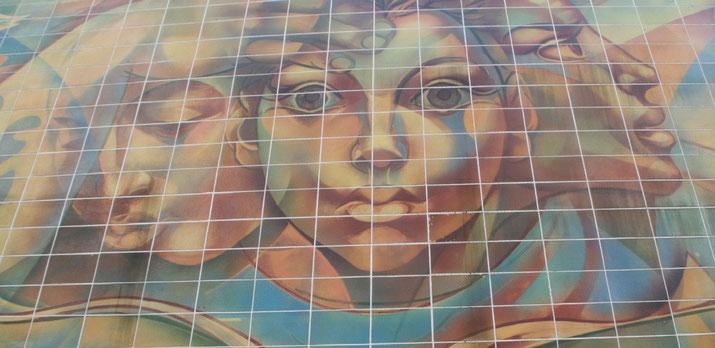 Im Oktober 2013 wurde das von Erhard Großmann geschaffene Wandbild 40 Jahre alt.