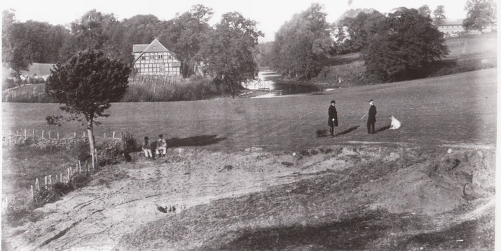 Rettungshaus Bethanien in Rattey vor 1873
