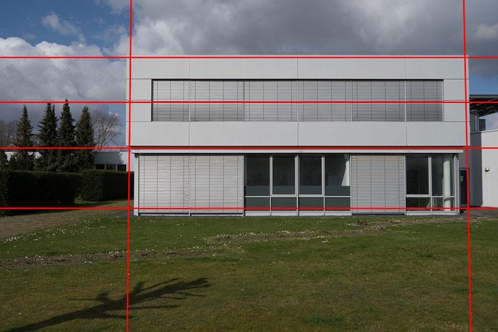 Vergleich Z7, NIKON AF-S 14-24 mm 1:2,8 G ED vs. Z 14-30 mm 1:4 S. Verzeichnung bei 30mm. Foto: bonnescape.de