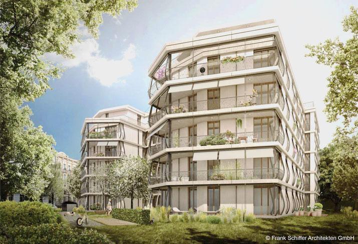 dgk architekten, Wohnungsbau, Berlin Pankow, Mühlenstraße 60, Ausschreibung, Bauüberwachung