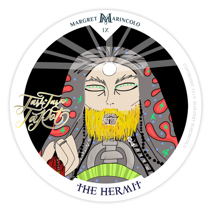 der-eremit-9-the-hermit-im-tarot-von-margret-marincolo