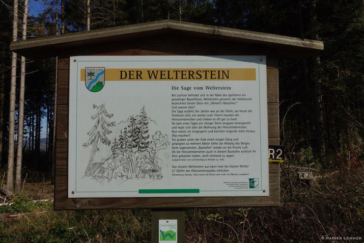 Großer Wolfsstein bei Bad Marienberg