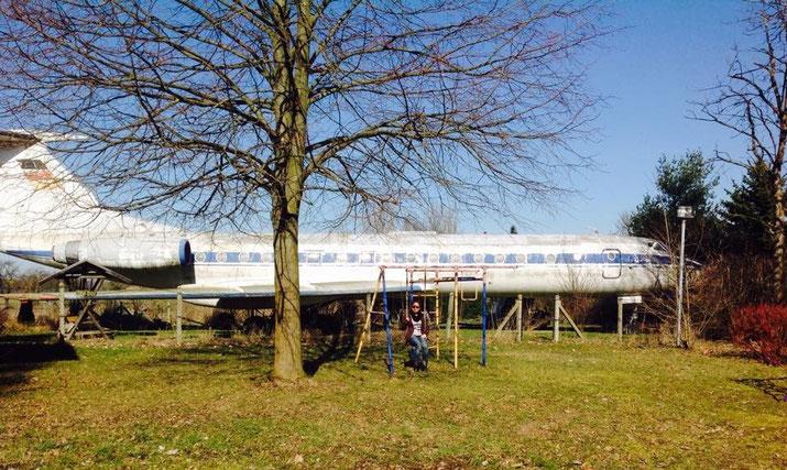 IL 134-A im Garten