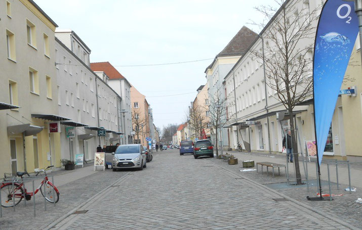 Straßenansicht Wartlaustraße Neubrandenburg