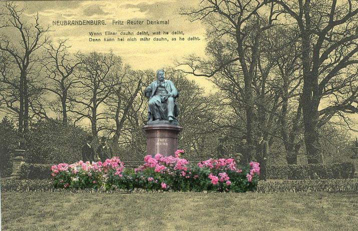Unter neun Entwürfen entschied sich die Denkmaljury für diesen vom Bildhauer Martin Wolff.