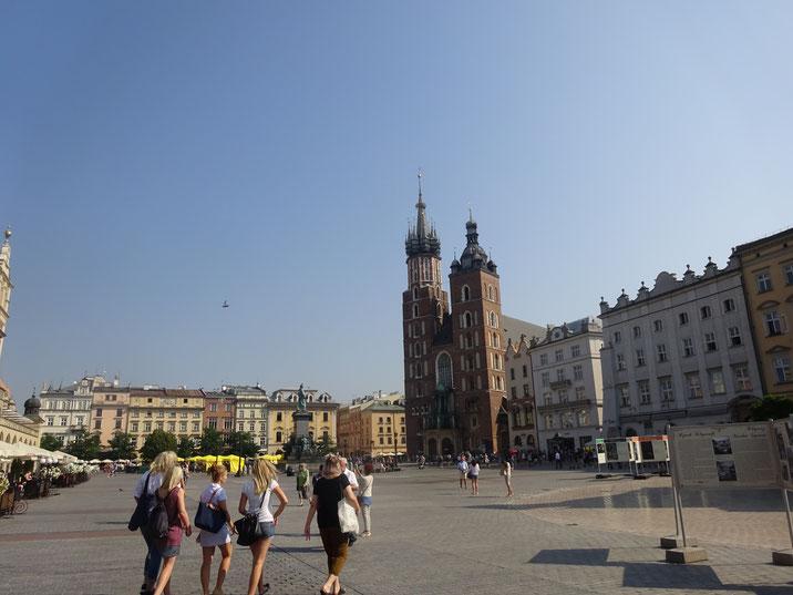 クラクフ中央広場