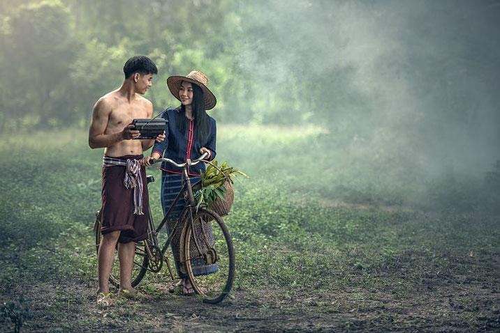 タイ人女性、タイ人男性、