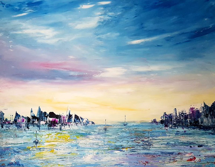 tableau-paysage-ocean-abstrait-peinture-marine-artiste-peintre-royan-audrey-chal