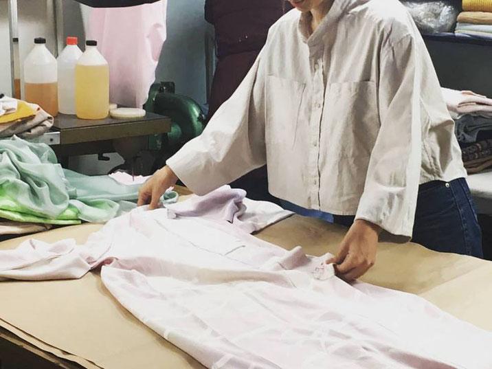 DACAL en el proceso de transformación de una prenda