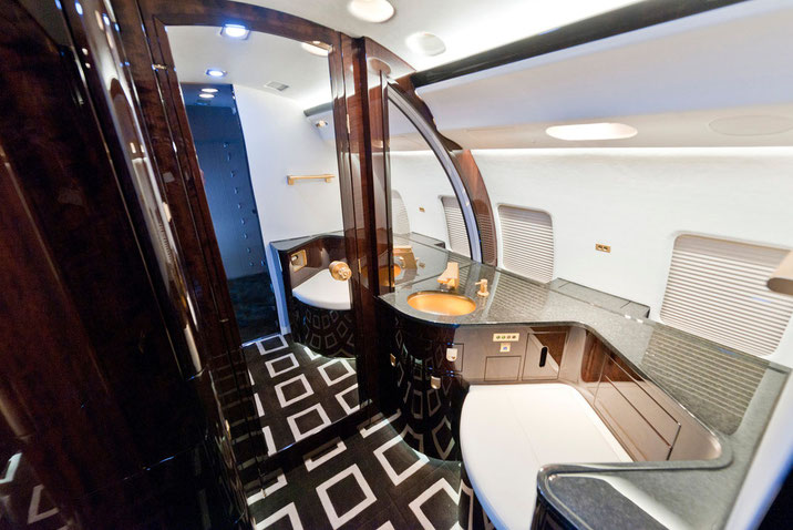 Flugzeugtoilette, Lavatory Global Express