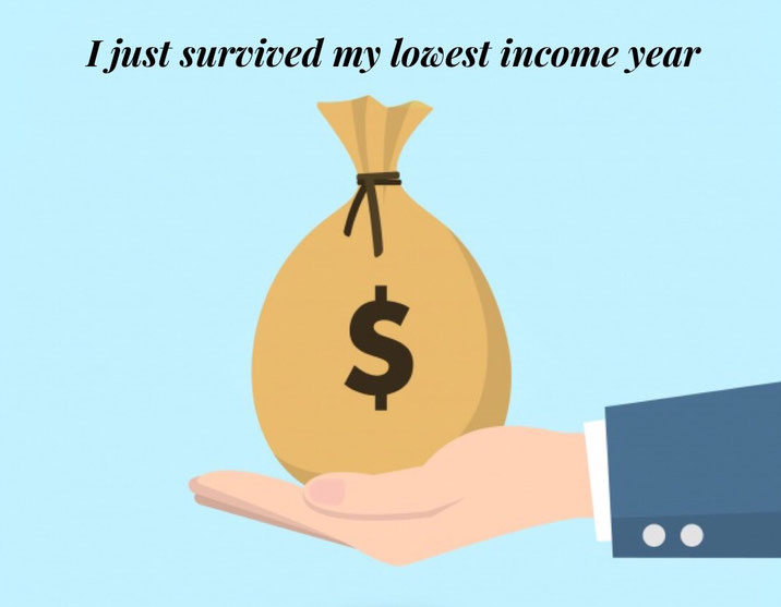 low income, surviving low income, live on less, hard year,