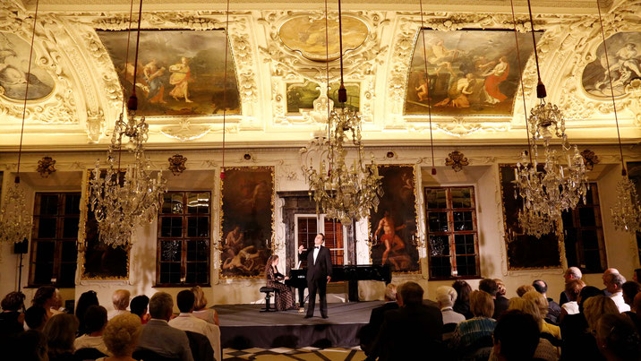 Charity concert at Planet hall of Eggenberg Palace 2016