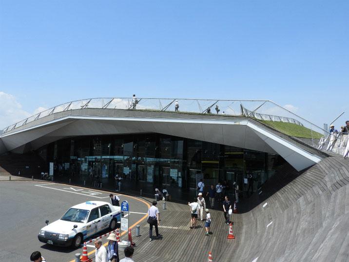 横浜港 大桟橋 国際客船ターミナル 2018/06/02撮影