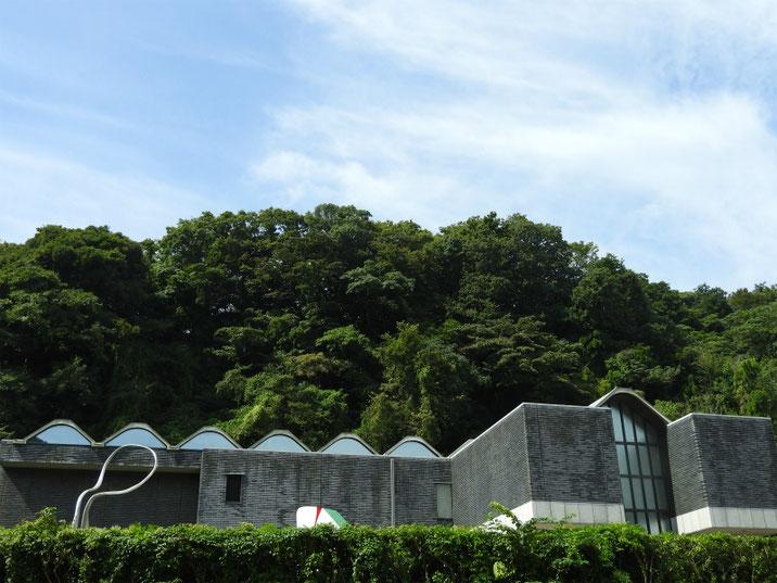 鎌倉近代美術館別館 夏の風景 160925撮影