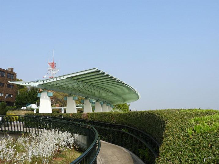 港の見える丘公園 展望台 180403撮影