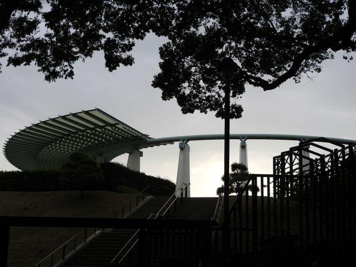 港のみえる丘公園 展望台 2018/10/26撮影