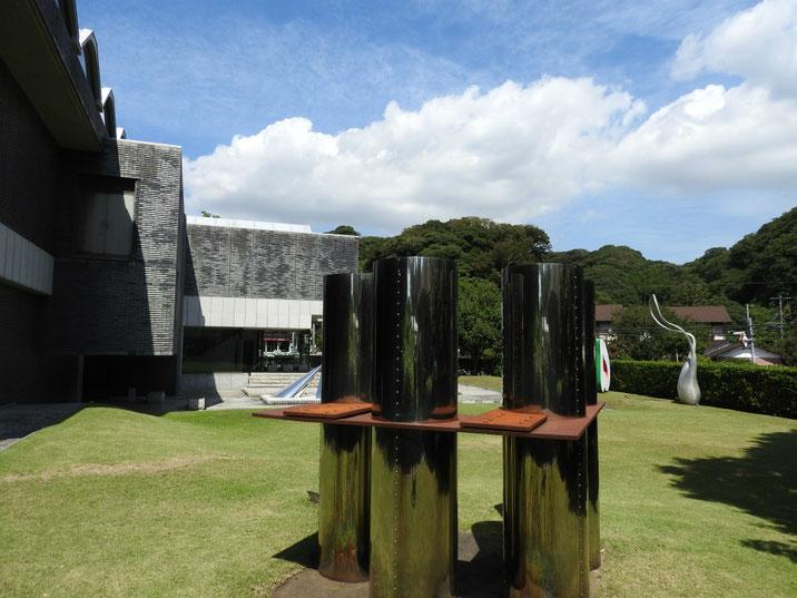 鎌倉近代美術館別館 秋の庭園 170919撮影