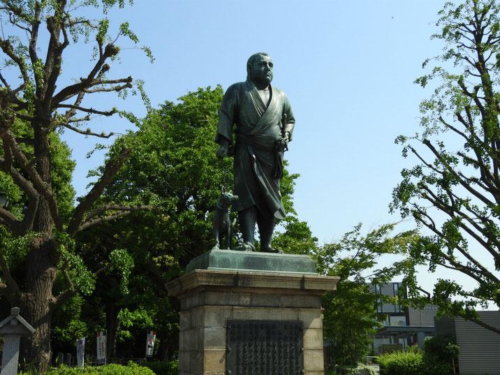 上野 西郷隆盛像 160519撮影