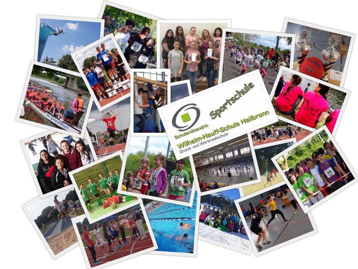Foto-Collage zum Sportzug