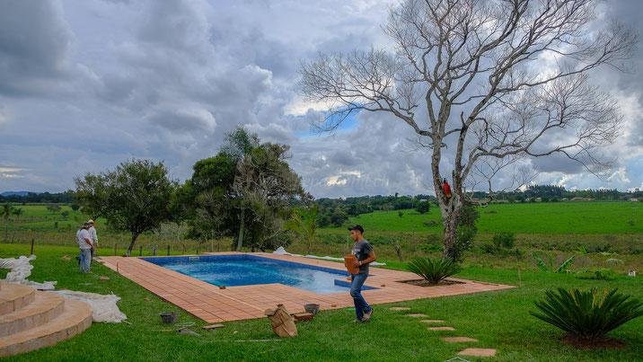 Fliesenarbeiten in Paraguay