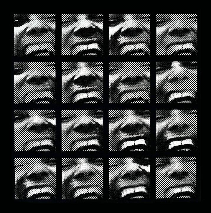 serielles Raster-Bild 1962/63
