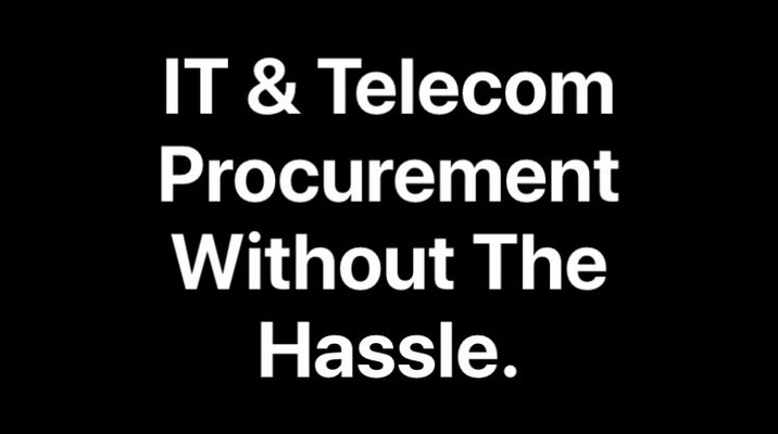 Best Free No charge IT and Telecom procurement resource without the hassle - hassle-free