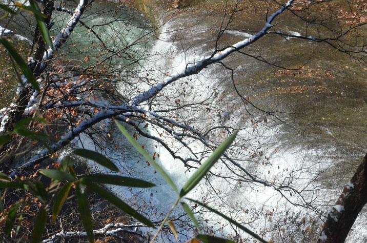 冬の吹割の滝