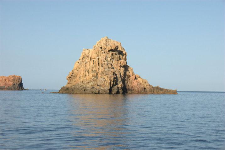 Küste bei Porto auf Korsika.