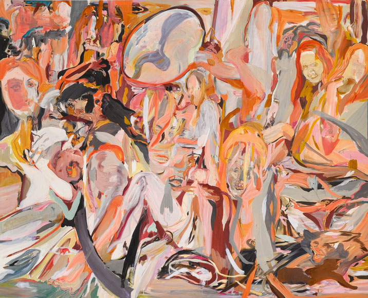 """Cecily Brown, """"Where they are now"""" (2013)"""