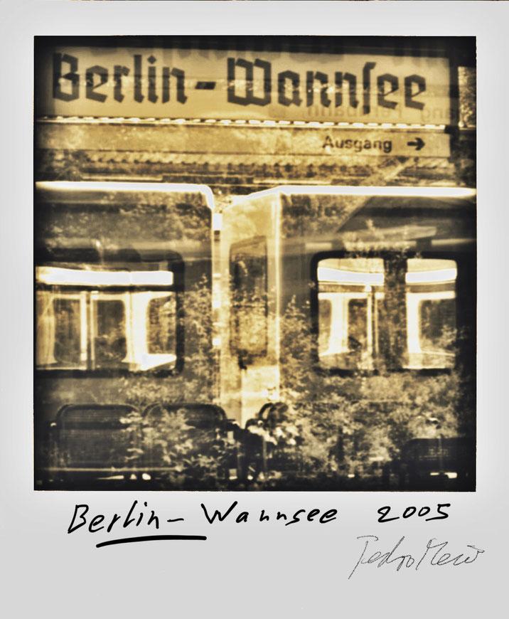Pedro Meier – Berlin Wannsee – Polaroid Diary 2005 by © Pedro Meier PhotoArt, Fotokünstler, Lyriker, Maler, Schriftsteller, Autor Amrain Verlag, Niederbipp Bern, Kunsthalle Olten, Bangkok BACC, SIKART Zürich, Visarte, ProLitteris. www.Autorenwelt.de