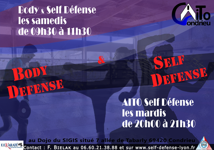 Club Condrieu - Body Défense - Self défense -
